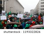 brussels  belgium. 2nd oct.... | Shutterstock . vector #1193322826