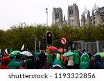 brussels  belgium. 2nd oct.... | Shutterstock . vector #1193322856