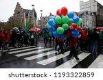 brussels  belgium. 2nd oct.... | Shutterstock . vector #1193322859