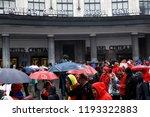 brussels  belgium. 2nd oct.... | Shutterstock . vector #1193322883