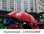 brussels  belgium. 2nd oct.... | Shutterstock . vector #1193322889