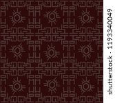 traditional chinese pattern ... | Shutterstock .eps vector #1193340049