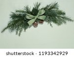 fir branch decorated with... | Shutterstock . vector #1193342929