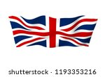 waving flag of the great... | Shutterstock . vector #1193353216