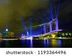 singapore city  singapore  ... | Shutterstock . vector #1193364496