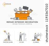 builders  design  fasteners ... | Shutterstock .eps vector #1193367010