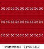 Knitted Wool Pattern Backgroun...