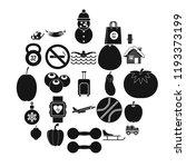 practice icons set. simple set...   Shutterstock .eps vector #1193373199