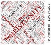 vector conceptual christianity  ...   Shutterstock .eps vector #1193391073