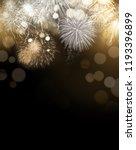 Bright Gold Dazzling Fireworks...