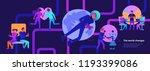 modern technologies and future...   Shutterstock .eps vector #1193399086