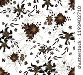 small flowers. seamless pattern ... | Shutterstock .eps vector #1193402710
