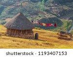 Traditional Basotho Hut In...
