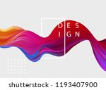 abstract colorful vector... | Shutterstock .eps vector #1193407900