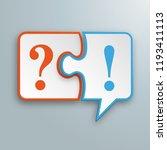 white paper speech bubble... | Shutterstock .eps vector #1193411113