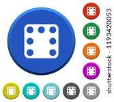 domino seven round color...   Shutterstock .eps vector #1193420053