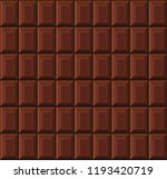 milk chocolate bar seamless... | Shutterstock .eps vector #1193420719