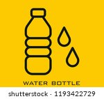 water bottle icon signs