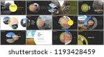 minimal presentations design ... | Shutterstock .eps vector #1193428459