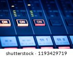 digital mixing console for...   Shutterstock . vector #1193429719