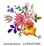 flowers are full of romance the ... | Shutterstock . vector #1193437390