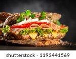 classic blt sandwiches | Shutterstock . vector #1193441569