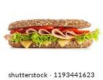 classic blt sandwiches | Shutterstock . vector #1193441623
