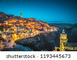 panoramic view of the ancient... | Shutterstock . vector #1193445673
