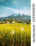 beautiful view of idyllic...   Shutterstock . vector #1193450959