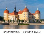 schloss moritzburg  a baroque...   Shutterstock . vector #1193451610