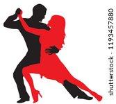ballroom dance people | Shutterstock .eps vector #1193457880