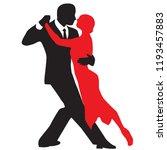 ballroom dance people | Shutterstock .eps vector #1193457883