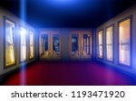 retro theater entrance with... | Shutterstock . vector #1193471920