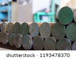 iron billets are in stock and... | Shutterstock . vector #1193478370