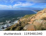 rocky outcrops in point reyes... | Shutterstock . vector #1193481340