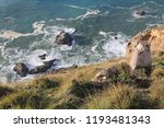 rocky outcrops in point reyes... | Shutterstock . vector #1193481343