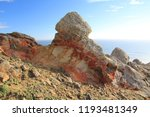 rocky outcrops in point reyes... | Shutterstock . vector #1193481349