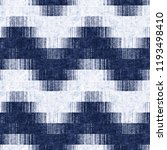 chevron ikat motif dyed in... | Shutterstock . vector #1193498410