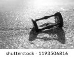 hourglass in the water by the... | Shutterstock . vector #1193506816