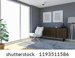 contemporary living room... | Shutterstock . vector #1193511586