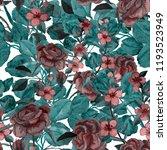 watercolor seamless pattern... | Shutterstock . vector #1193523949