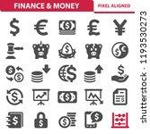 finance   money icons.... | Shutterstock .eps vector #1193530273