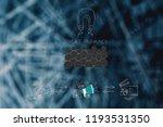 brands working with online... | Shutterstock . vector #1193531350