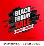 dynamic black friday sale... | Shutterstock .eps vector #1193532433