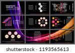 business presentation templates.... | Shutterstock .eps vector #1193565613