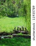 small wooden bridge | Shutterstock . vector #11935789