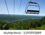 tremblant village and lake | Shutterstock . vector #1193592889