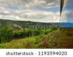gokteik railway bridge in... | Shutterstock . vector #1193594020