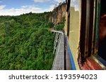 gokteik railway bridge in... | Shutterstock . vector #1193594023