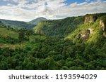 gokteik railway bridge in... | Shutterstock . vector #1193594029